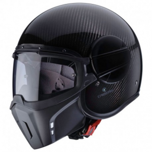 CABERG Ghost CARBON Open Face Helmet - Carbon Black