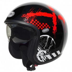 PREMIER Vintage RX9 Open Face Helmet - Black
