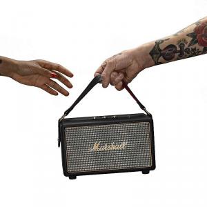 Marshall Kilburn nero - altoparlante stereo bluetooth portatile