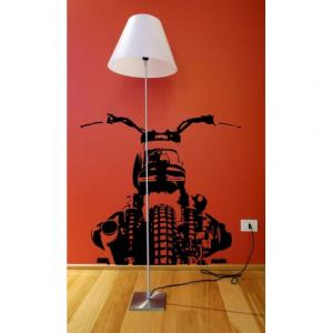 VISUAL THINK Bmw Motorcycle MC 11 Wall Sticker - Black