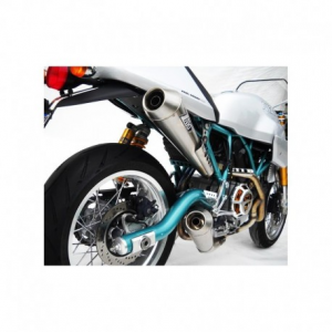 ZARD 2 in 2 Full Exhaust for Ducati Sport Classic Paul Smart - Titanium