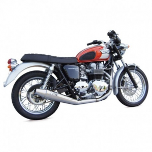 ZARD 2 in 1 Low Mounted Full Exhaust for Triumph Thruxton - Stainless Steel