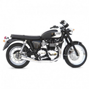 ZARD 2 in 1 Sport Full Exhaust for Triumph Thruxton - Stainless Steel
