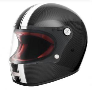 PREMIER Trophy Carbon T0 One Full Face Helmet - Black