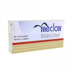 MECLON - CREMA VAGINALE ANTISETTICA A BASE DI CLOTRIMAZOLO E METRONIDAZOLO
