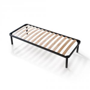 sommier lattes en bois avec structure m tallique apple. Black Bedroom Furniture Sets. Home Design Ideas