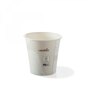 Bicchieri biodegradabili cartoncino 120 ml caffè espresso