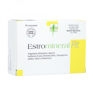 ESTROMINERAL FIT - INTEGRATORE PER CONTRASTARE I DISTURBI DELLA MENOPAUSA 40 CPR