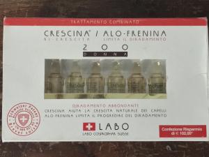 LABO- CRESCINA RI-CRESCITA DIRADAMENTO GRAVE 200 DONNA 36 FIALE