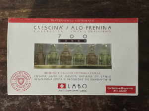 LABO- CRESCINA RI-CRESCITA CALVIZIE FEMMINILI ESTESE  700 DONNA 36 FIALE