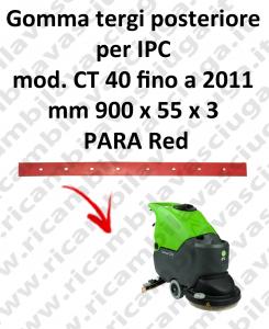 CT 40 fino a 2011 GOMMA TERGI posteriore per lavapavimenti e lavasciuga IPC