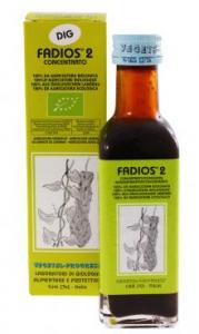 FADIOS 2 antiossidante, favorisce la digestione, il drenaggio dei liquidi corporei e contrasta i disturbi del ciclo mestruale