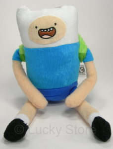 Adventure Time Finn peluche 25 cm Qualità Velluto Originale