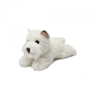 Aurora Westie cane peluche 25 cm qualità extra Originale