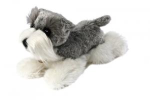 Aurora Schnauzer cane peluche 25 cm qualità extra Originale