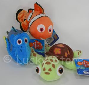 Disney Alla Ricerca di Nemo Dori Scorza peluche 20 cm Velluto
