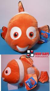 Disney Alla Ricerca di Nemo Pesce Pagliaccio Peluche  Gigante 65 cm Velluto Originale