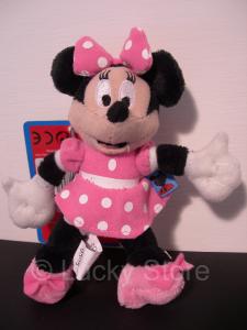 Disney Club House Minnie portachiavi peluche