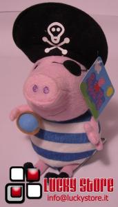 George pirata peluche 30 cm velluto Peppa Pig