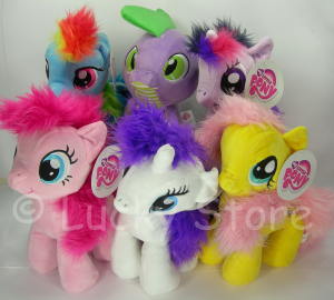 My Little Pony peluche 30 cm velluto Rarity Pinkie Pie Apple Jack Originale