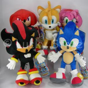 Sonic e amici peluche 35 cm Qualità Velluto Nuovo Originale