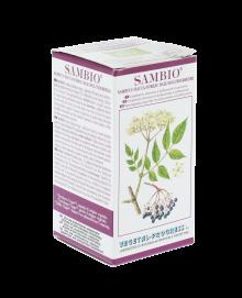 SAMBIO polvere di sambuco antiossidante, ottimo coadiuvante nella funzionalit\u00e0 della VISTA