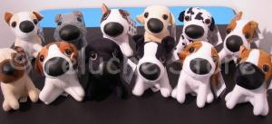 The Dog peluche 15 cm Dalmata Basset Hound Chihuahua Originale Collezione