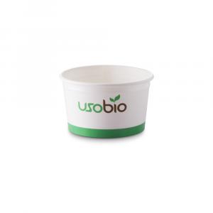 Coppette gelato biodegradabili piccole - 90cc