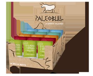 PaleoBull - Confezione da 15 Pezzi per 5 gusti differenti (3 pezzi ognuno)