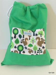 Scoiattoli verdi - sacca verde multiuso