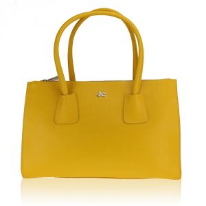 Hand and shoulder bag J&C JackyCeline  B317-01 025 GIALLO