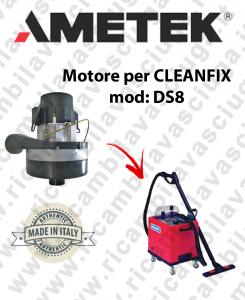 DS8 MOTORE AMETEK di aspirazione per lavapavimenti CLEANFIX