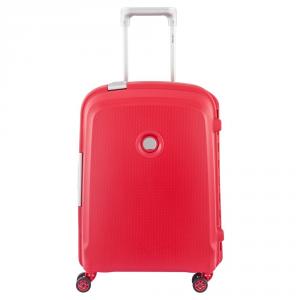 Delsey - Belfort Plus - Trolley da cabina Ryanair 55 cm 4 ruote rosso cod. 3841803