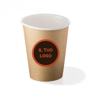 Bicchieri biodegradabili cartoncino personalizzati 360ml