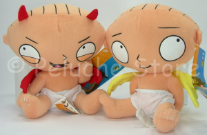 Griffin Family Guy Stewie diavoletto angioletto peluche 15 cm