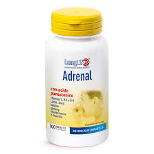ADRENAL - INTEGRATORE PER RIDURRE LO STRESS LONG LIFE