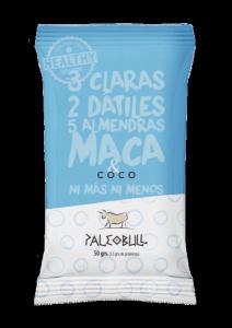 PaleoBull - Confezione da 15 Pezzi di Barrette al Cocco