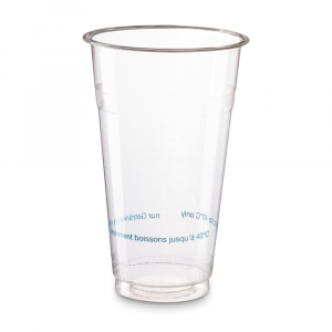 PROMO - Bicchieri biodegradabili 500-600ml PLA