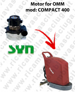 COMPACT 400 - MOTORE di aspirazione SYNCLEAN per lavapavimenti OMM