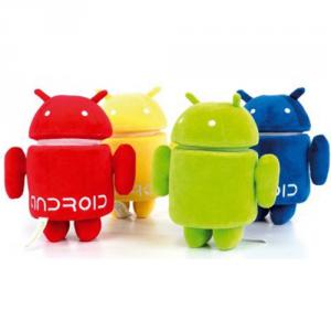 Android peluche con testa rotante 25 cm Originale Qualità Velluto
