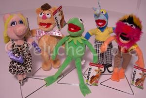 Disney Muppets peluche 20 cm Kermit Gonzo Fozzie Miss Piggy
