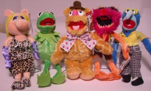 Disney Muppet peluche 30 cm Kermit Gonzo Fozzie Miss Piggy Muppets