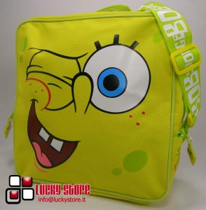 Spongebob borsa a tracolla quadrata 27 cm