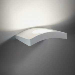 WAVE LED applique bianco