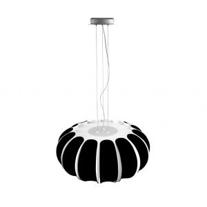 BLOMMA lampada sospensione nera
