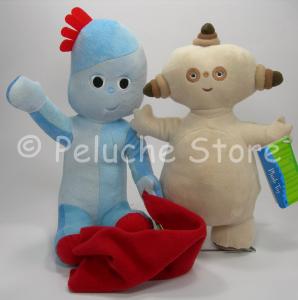 Foresta dei Sogni Iggle Piggle Makkapakka coppia peluche 30 cm velluto
