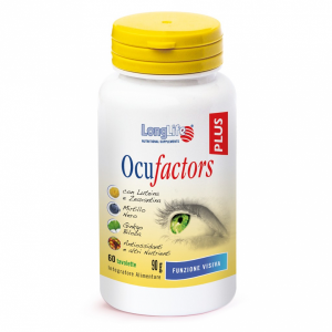 OCUFACTORS PLUS - INTEGRATORE PER LA VISTA LONG LIFE