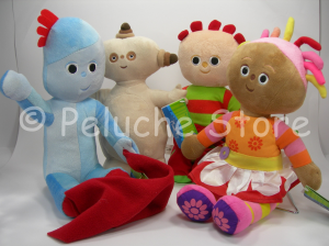 Foresta dei Sogni Famiglia Set 4 peluche 35 cm Originale In the Night Garden