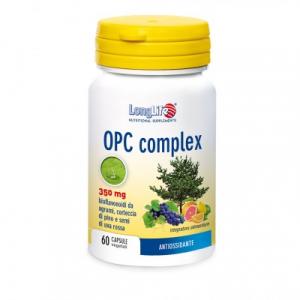OPC COMPLEX - INTEGRATORE ANTIOSSIDANTE E CARDIOVASCOLARE LONG LIFE