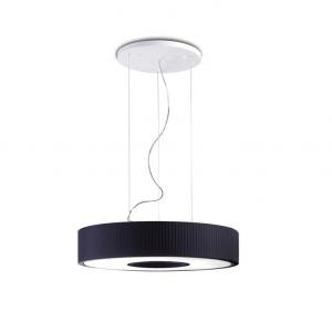 SPIN 45 lampada sospensione paralume nero